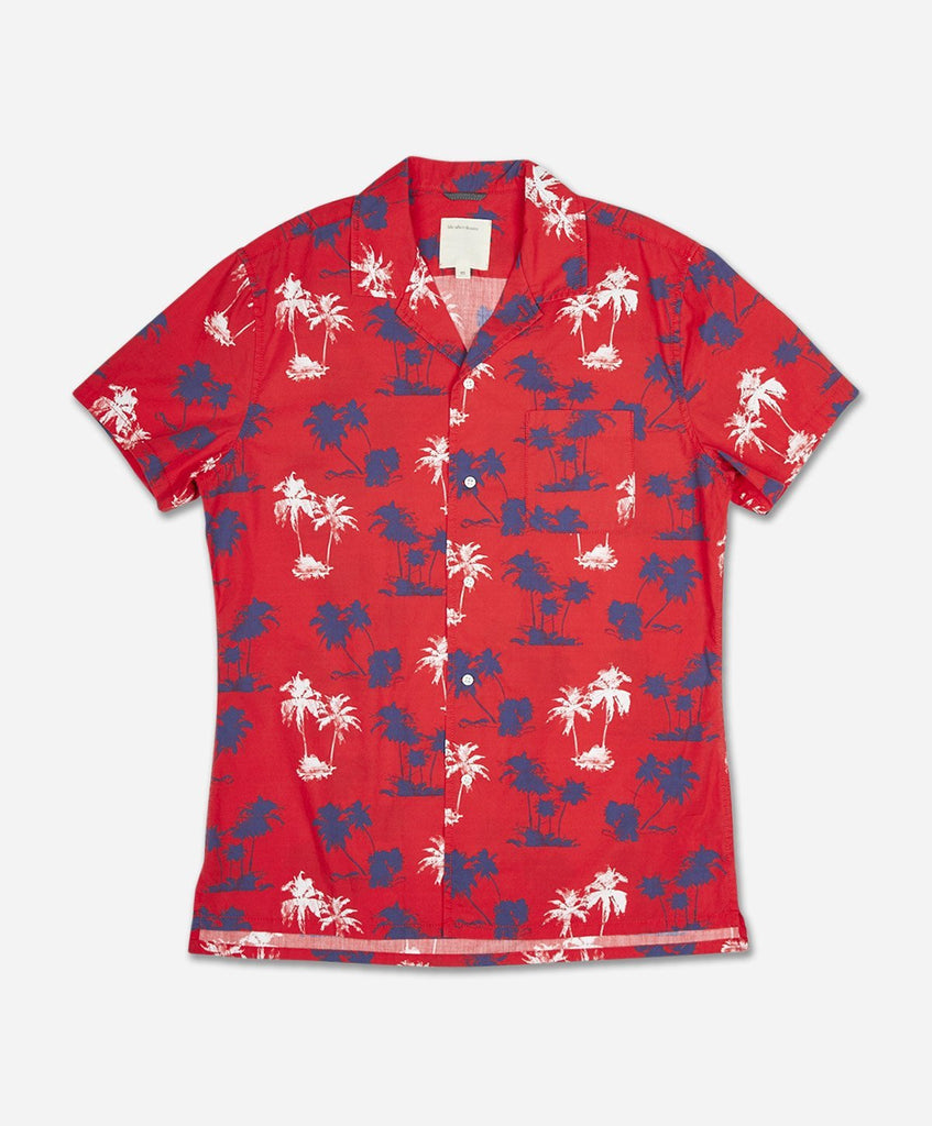 Huntington Short Sleeve Shirt - Racing Red