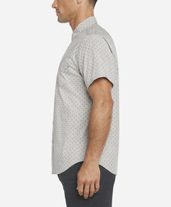 Short Sleeve Islander Shirt - Heather Grey