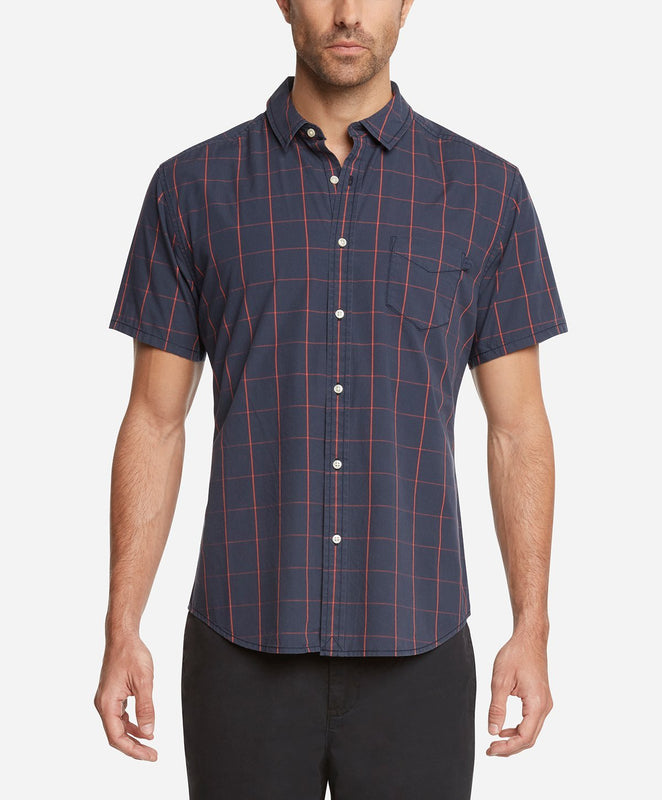 Short Sleeve Kahuna Shirt - Navy