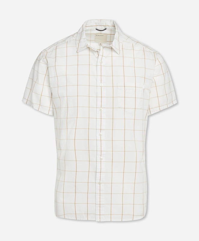 Short Sleeve Kahuna Shirt - White