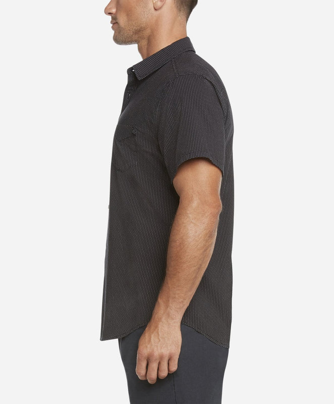 Short Sleeve Mainland Shirt - Black