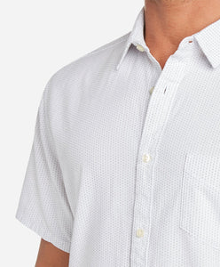 Short Sleeve Mainland Shirt - White