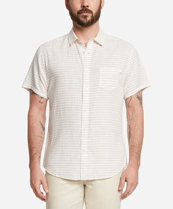 Short Sleeve Masaryk Shirt - White