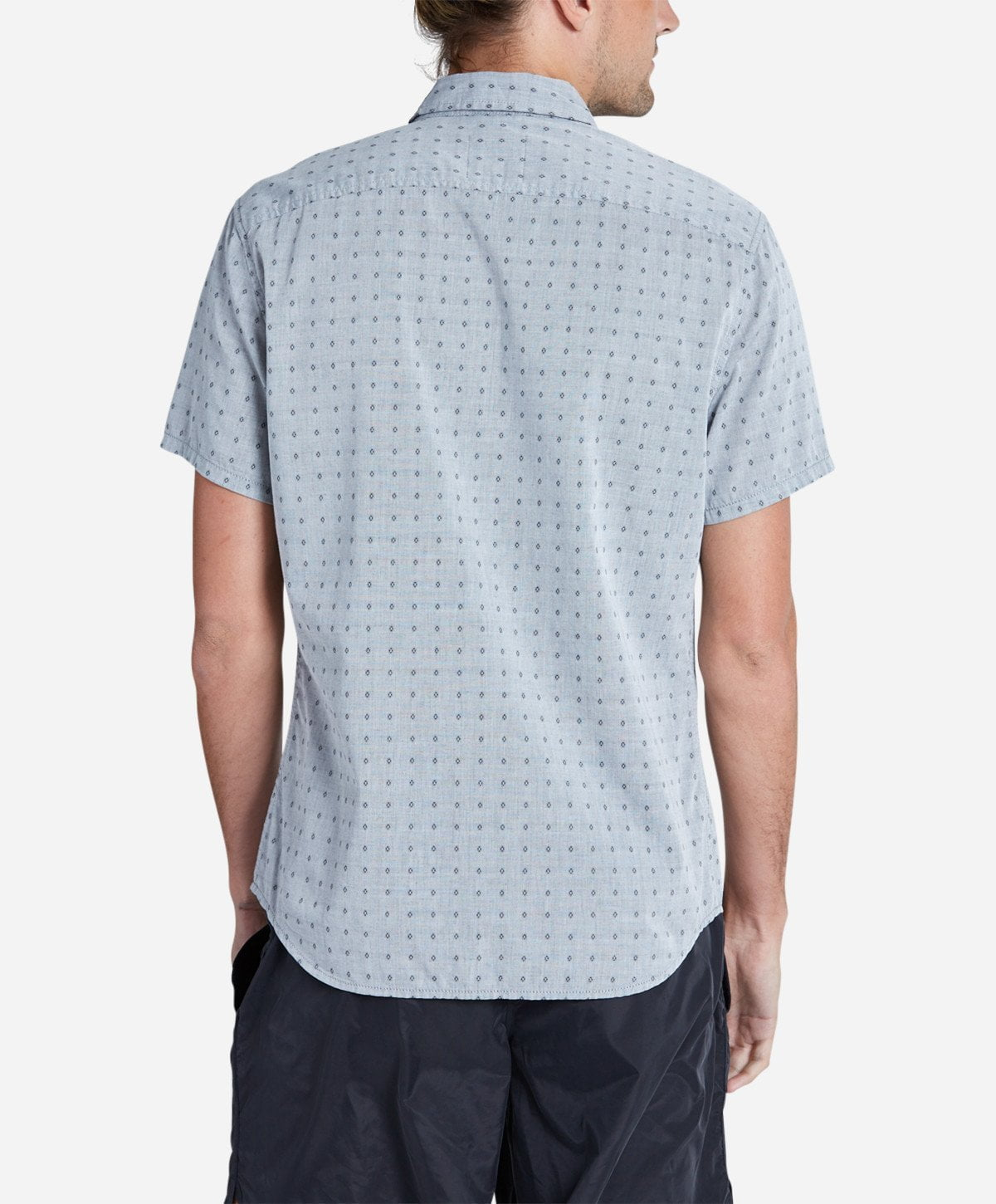 Outfield Short Sleeve Shirt - Heather Grey