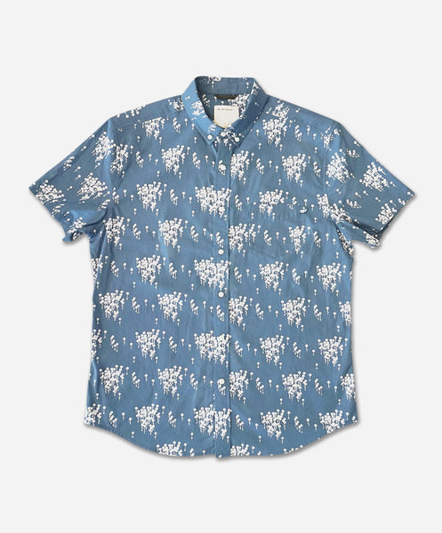 Oxeye Short Sleeve Shirt - Light Blue