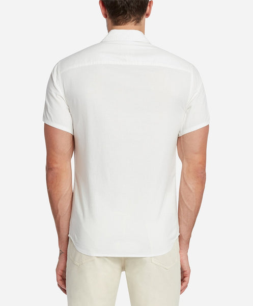 Oxford Short Sleeve Shirt - White