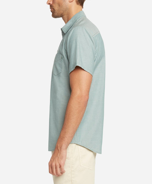 Short Sleeve Oxford Shirt - Cactus