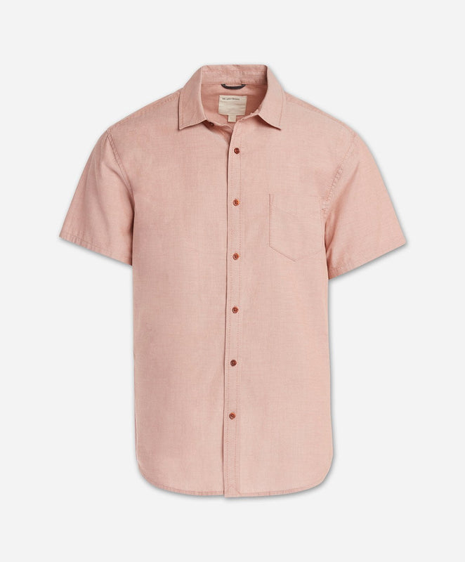 Short Sleeve Oxford Shirt - Terra Cotta