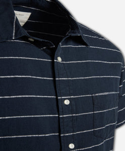 Short Sleeve Pacific Shirt - Navy