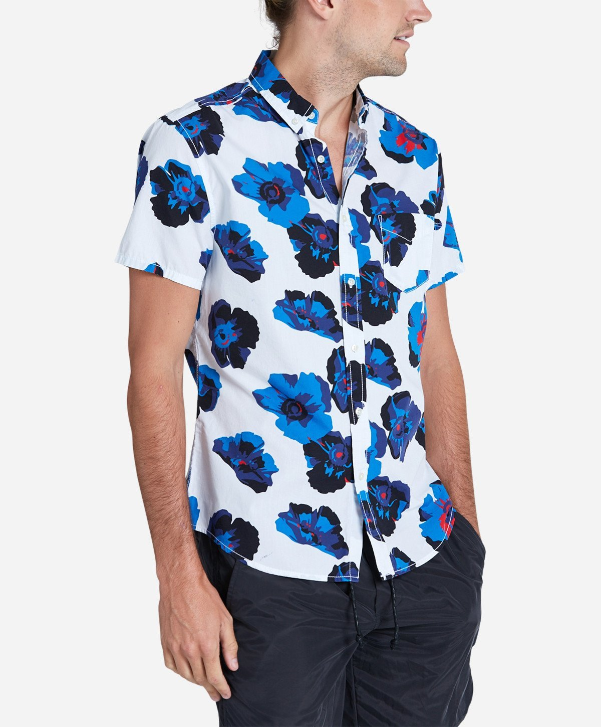Poppy Short Sleeve Shirt - White