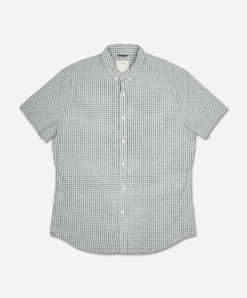 Racket Short Sleeve Shirt - Heather Grey