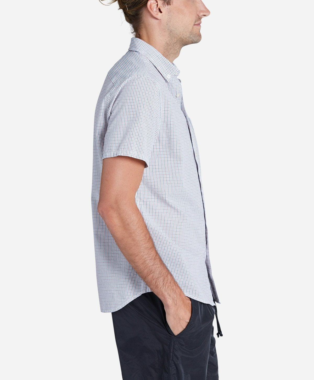 Racket Short Sleeve Shirt - White