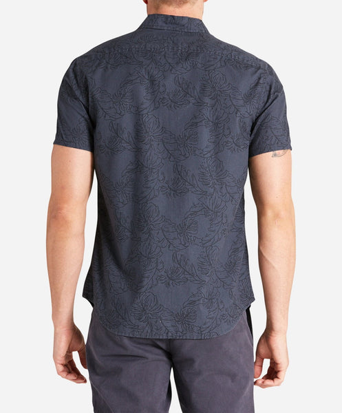 Retreat Short Sleeve Shirt - Smog