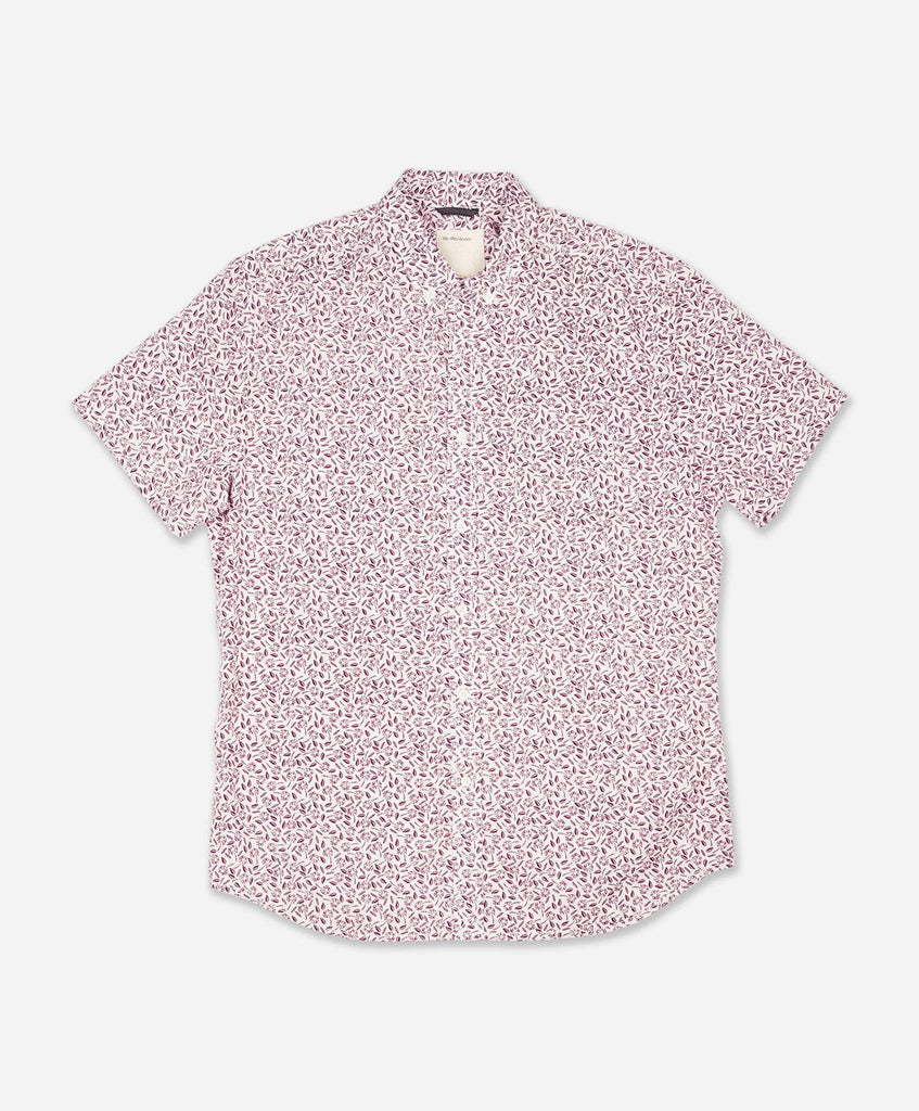Rincon Short Sleeve Shirt - Wino