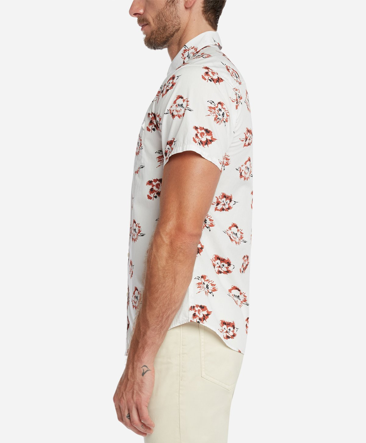 Rosarito Short Sleeve Shirt - White