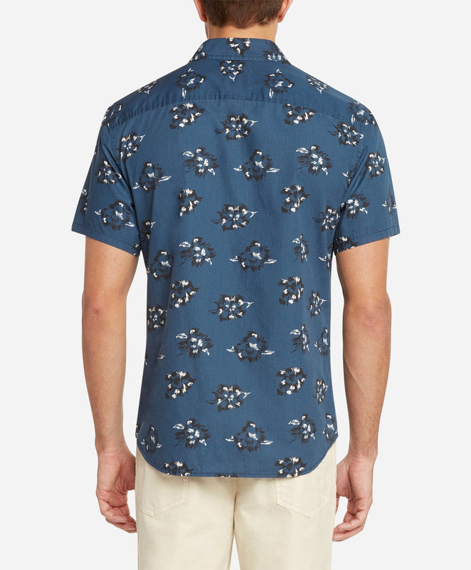 Short Sleeve Rosarito Shirt - Blue Agave