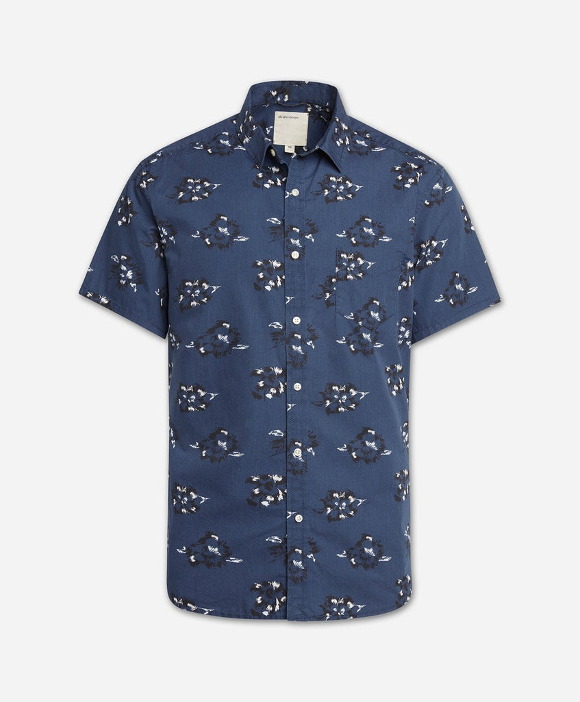 Rosarito Short Sleeve Shirt - Blue Agave