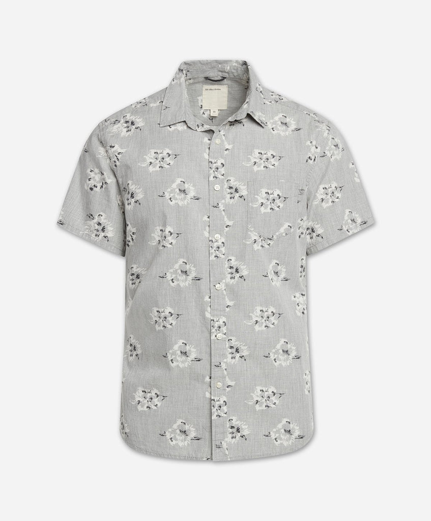 Rosarito Short Sleeve Shirt - Heather Grey