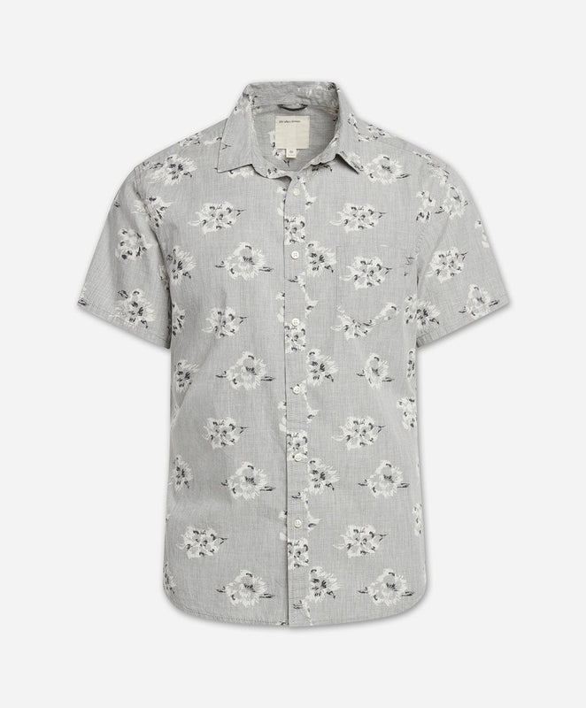 Short Sleeve Rosarito Shirt - Heather Grey