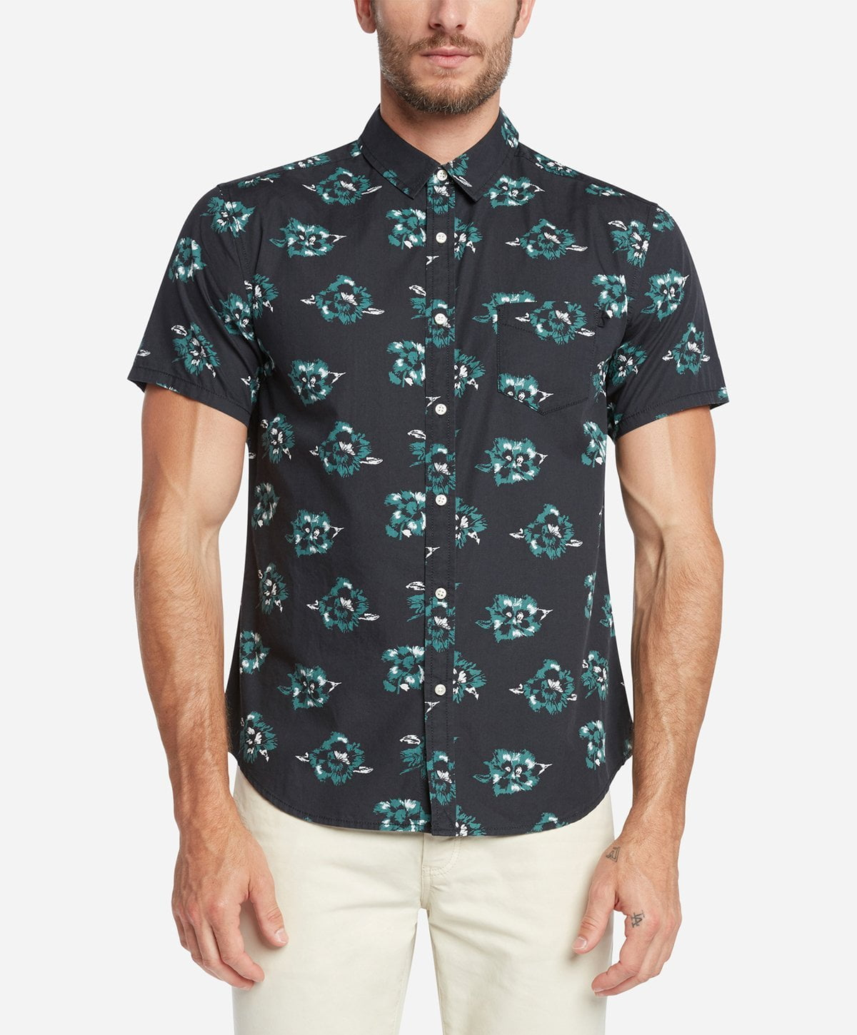 Rosarito Short Sleeve Shirt - Black