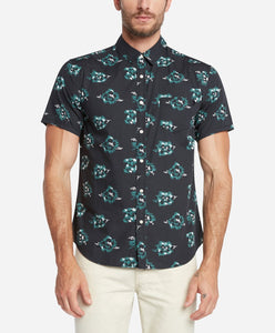 Short Sleeve Rosarito Shirt - Black