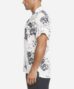 Short Sleeve Royal Botanic Shirt - White
