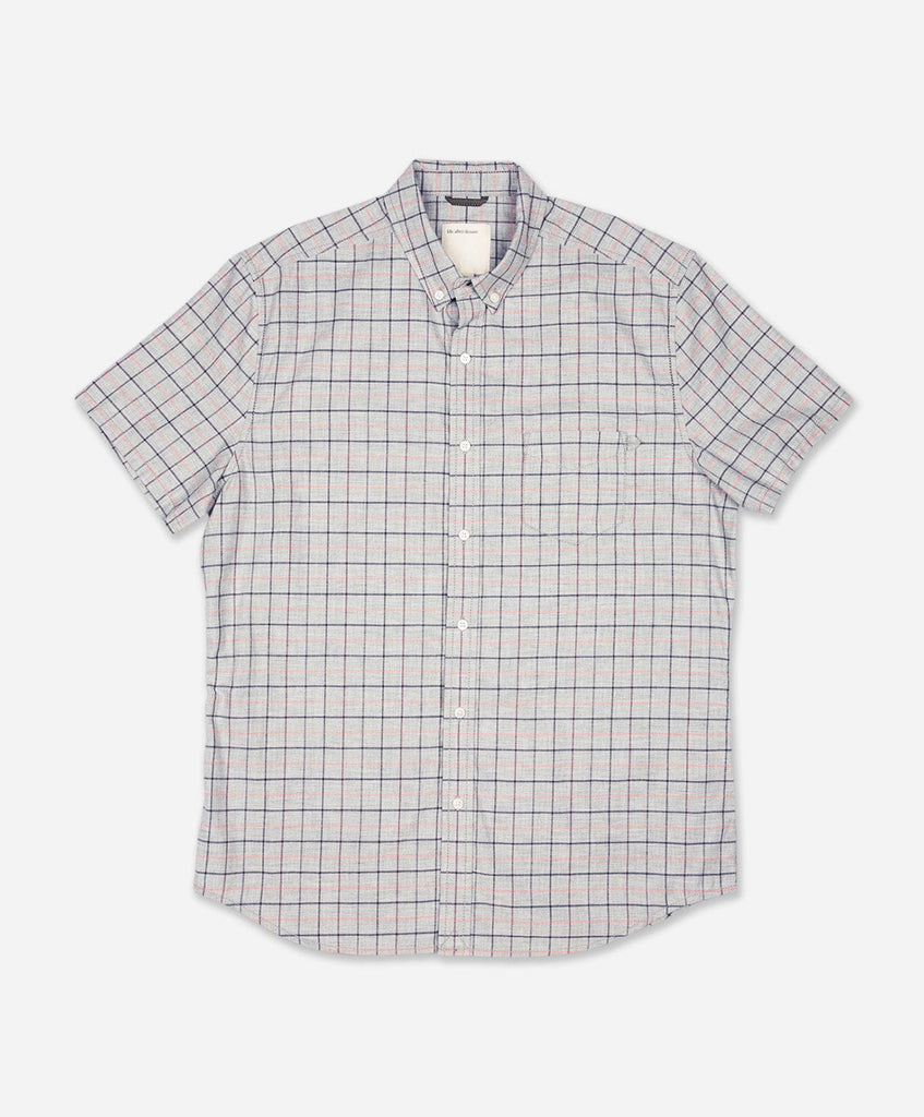Seaport Short Sleeve Shirt - Heather Grey