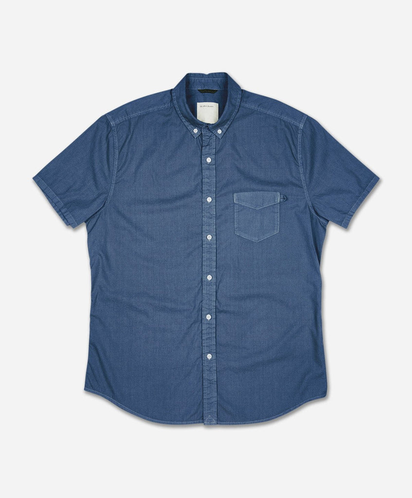 Silverlake Short Sleeve Shirt - Dark Blue