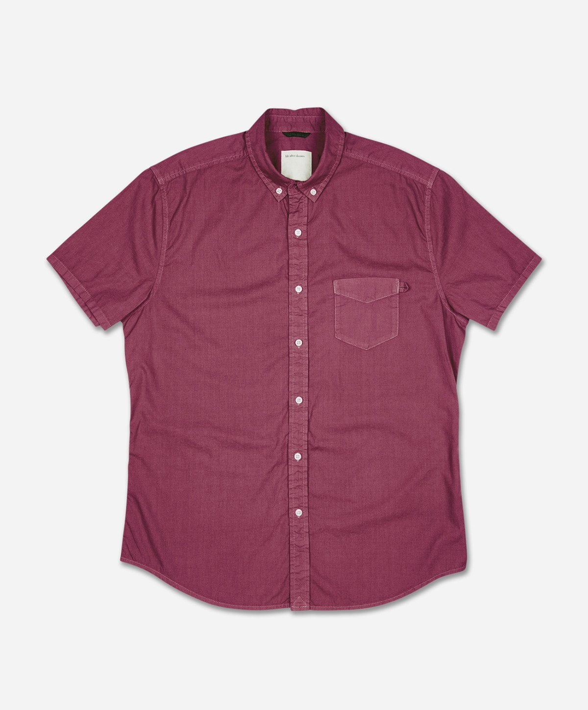 Silverlake Short Sleeve Shirt - Wino