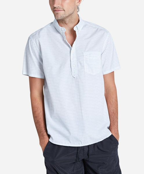 Skipper Popover Short Sleeve Shirt - Shade