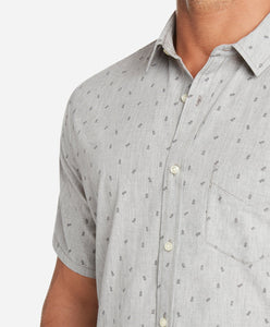 Short Sleeve Taronga Shirt - Heather Grey