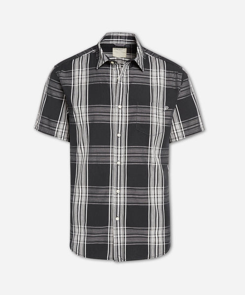 Short Sleeve Toluca Shirt - Black