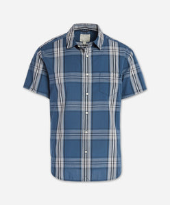 Short Sleeve Toluca Shirt - Blue Agave