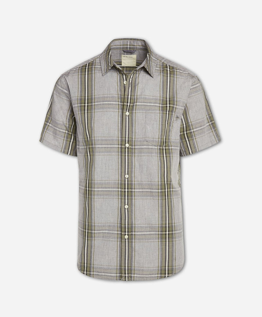 Toluca Short Sleeve Shirt - Dusty Olive