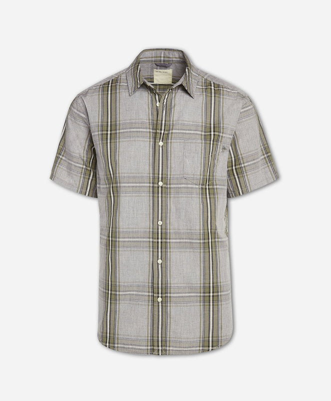 Short Sleeve Toluca Shirt - Dusty Olive