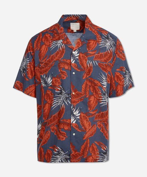 Tourist Short Sleeve Shirt - Navy