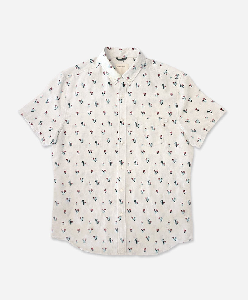 Wasteland Short Sleeve Shirt - Mineral Grey