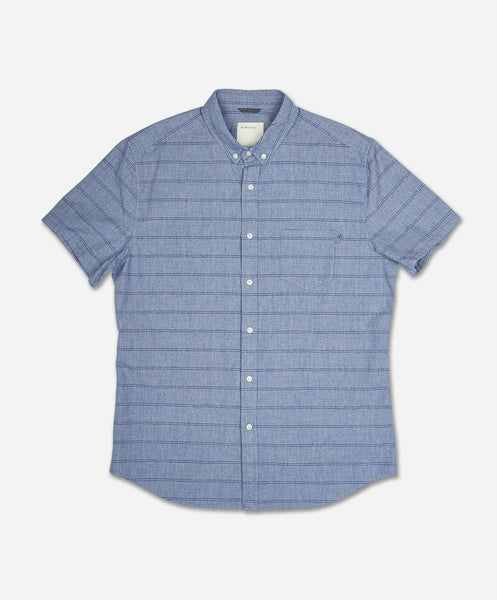 Zipline Short Sleeve Shirt - Blue Marine