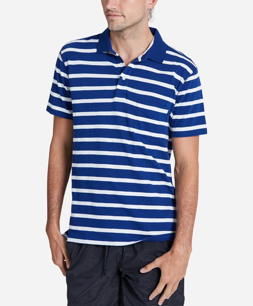 Short Sleeve Ref Polo - Blue Marine