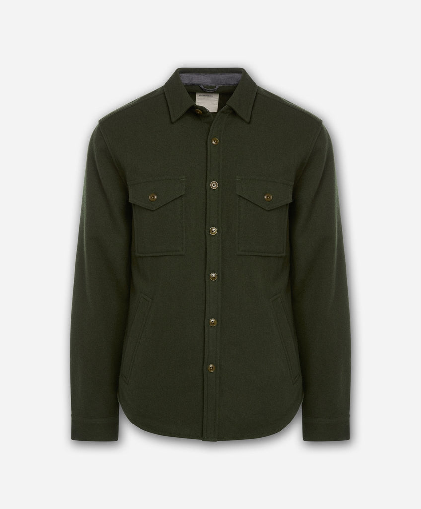 Sahara Shirt Jacket - Dark Field Green