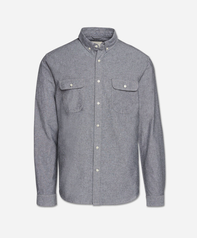 Scout Chambray Shirt - Black