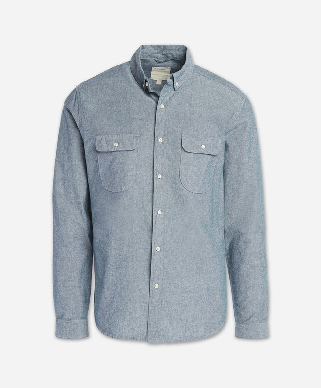 Scout Chambray Shirt - Blue Blood