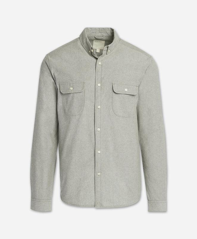 Scout Chambray Shirt - Olive