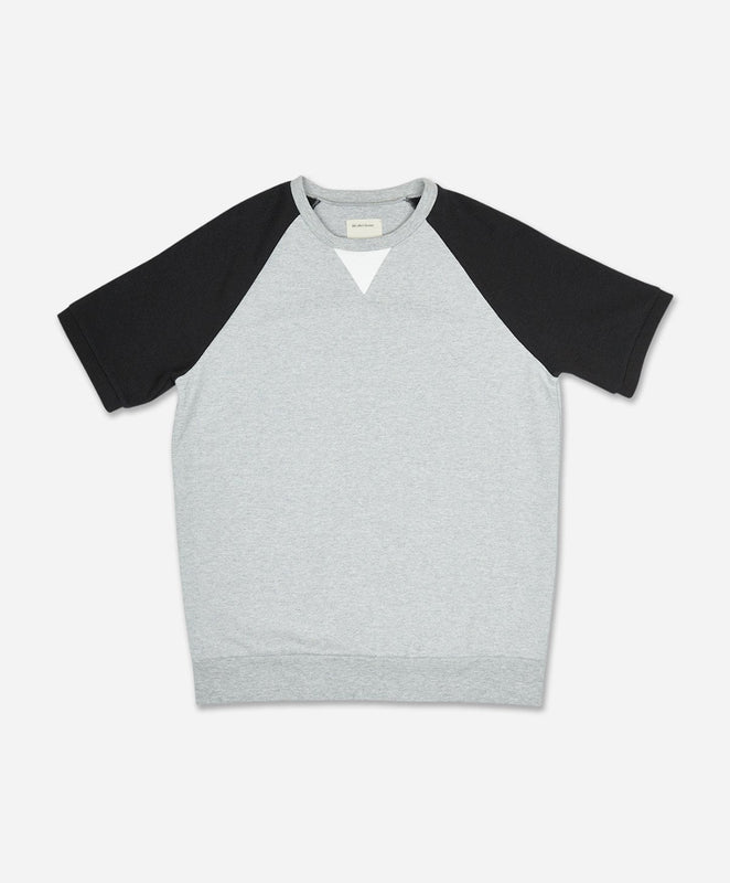 Scuba Short Sleeve Crew - Heather Grey