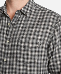 Sherbrooke Check Shirt - White