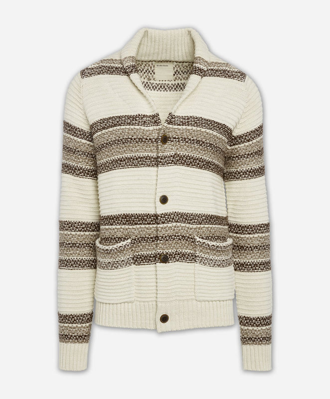 Shetland Cardigan Sweater - Irish Cream