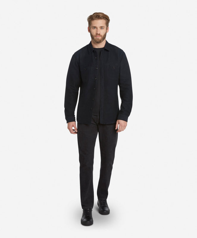 Shoreditch Shirt Jacket - Black