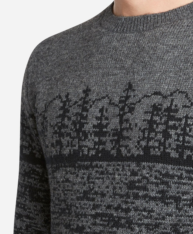 Sierra Crew Sweater - Heather Charcoal