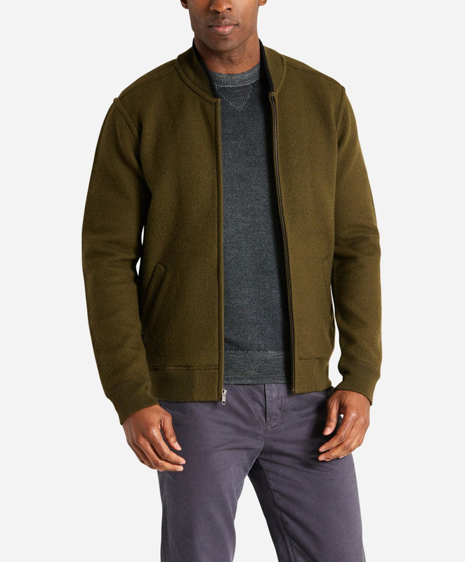 Sport Cardigan - Field Green