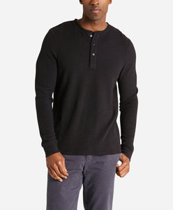 Thermal Henley - Black